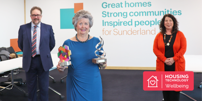 Gentoo Group Resident Wins National Award for Role in the Community